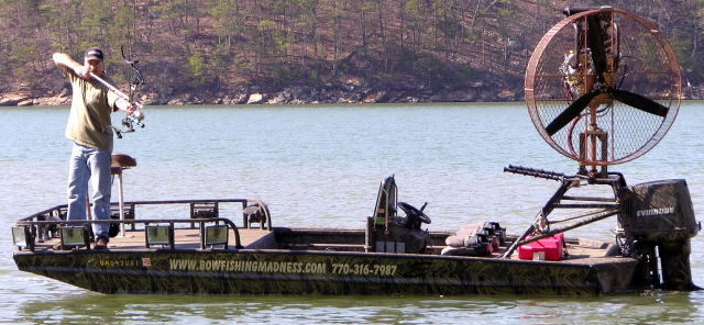 The Bowfishing Madness Boat